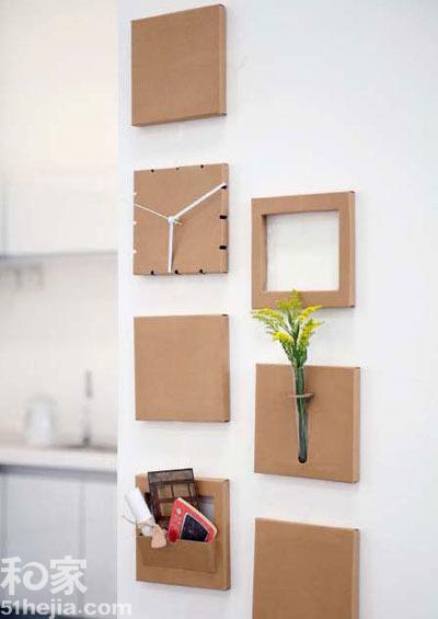 纸箱做书柜的步骤图片